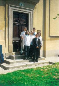 Ad Libitum Guitar Orchestra – Berkenye parish – 2000