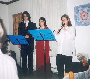 Az Ad Libitum Gitárzenekar vendégművészei – Koncert Pátyon – 2005