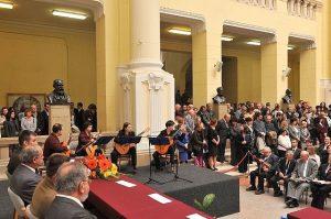 Ad Libitum Gitárzenekar – Fellépés a Budapesti Műszaki Egyetem Diplomaosztó Ünnepségén – 2010