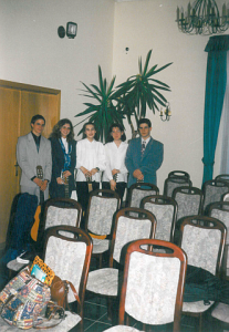 Ad Libitum Guitar Orchestra – Pilisszentiván parish – 2000