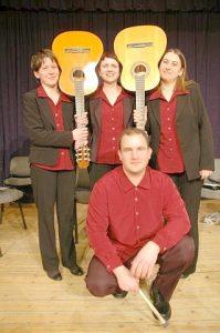 Ad Libitum Guitar Orchestra – Páty parish, Cultural Centre – 2011