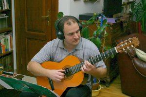 Az Ad Libitum Gitáregyüttes új lemezén dolgozik – 2012 (Kocsis Tamás)