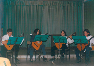 Ad Libitum Guitar Orchestra – Church in Városmajor, Budapest – 2000