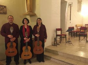 The Ad Libitum Guitar Ensemble in Balatonszemes – 2016