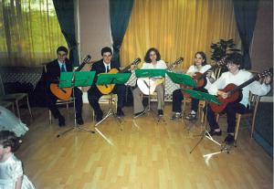 Ad Libitum Gitárzenekar – Esküvői előadás Debrecenben – 2002