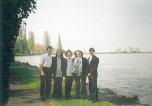 Ad Libitum Guitar Orchestra – in Balatonaliga city, after the appearance in a Medical Conference – 2002